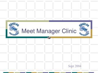 Meet Manager Clinic