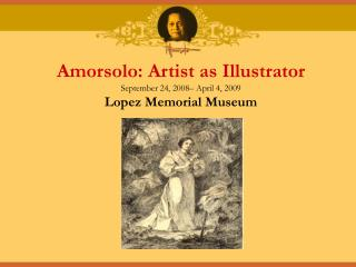 Amorsolo: Artist as Illustrator