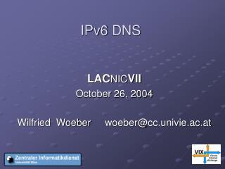 IPv6  DNS