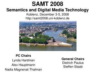PC Chairs Lynda Hardman Alex Hauptmann Nadia Magnenat-Thalman