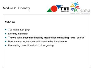 Module 2 : Linearity