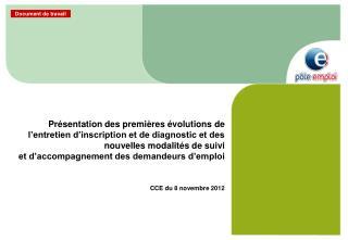 CCE du 8 novembre 2012