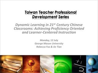 Taiwan Teacher Professional Development Series