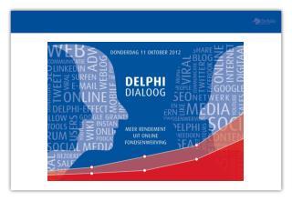 WELKOM Steffen Ringma operational director Delphi Fondsenwerving