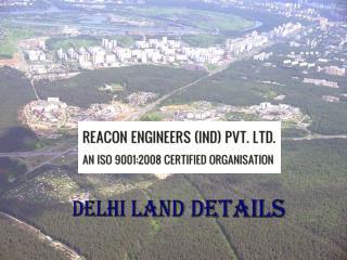 Delhi Land Details