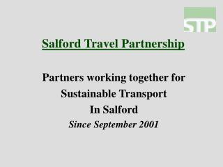 Salford Travel Partnership