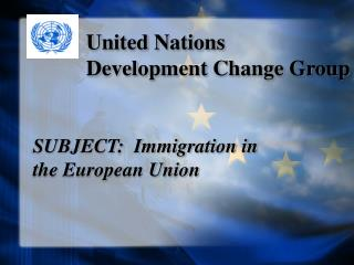 United Nations Development Change Group