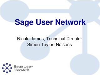 Sage User Network