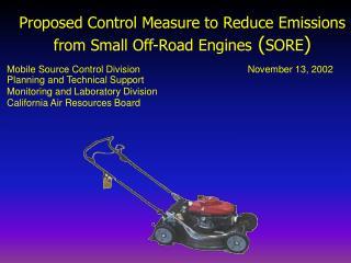 Presentation: 11-13-02 SORE Workshop - Evaporative Emissions