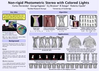 Non-rigid Photometric Stereo with Colored Lights