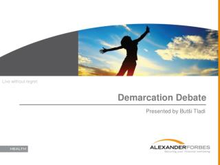 Demarcation Debate