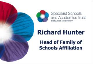 Richard Hunter Head of Family of Schools Affiliation