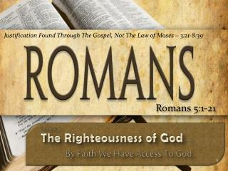Romans  5:1-21