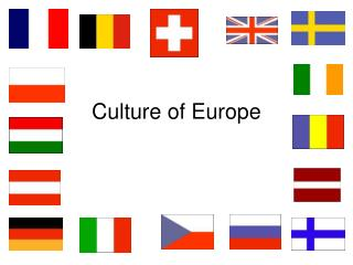 Culture of Europe