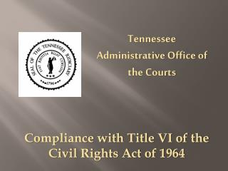 Tennessee Administrative Office of the Courts
