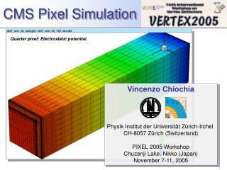 CMS Pixel Simulation