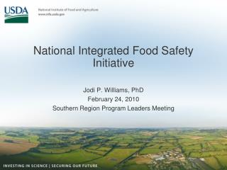 National Integrated Food Safety Initiative