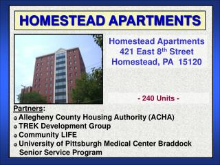 HOMESTEAD APARTMENTS