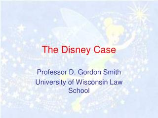 The Disney Case