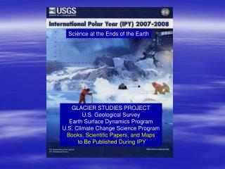 Glacier Studies Project