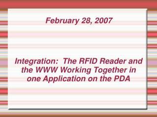 February 28, 2007
