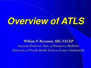 Overview of ATLS