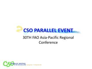 CSO PARALLEL EVENT