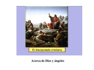 Acerca de Dios y ángeles