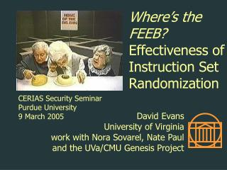 Where's the FEEB? Effectiveness of Instruction Set Randomization