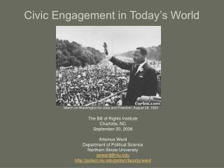 Civic Engagement in Today's World