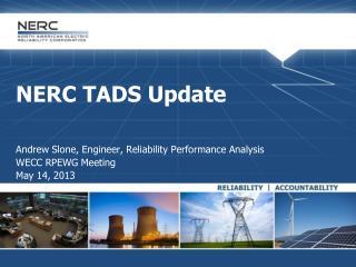 NERC TADS Update
