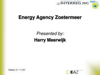 Energy Agency Zoetermeer