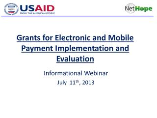 Grants  for Electronic and Mobile Payment Implementation and Evaluation