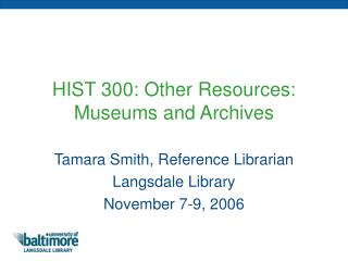 Power Point: Other History Resources 2.59 MB