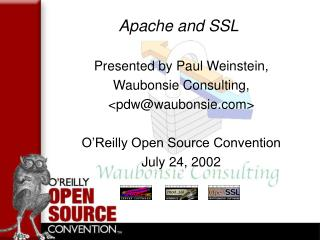 Apache and SSL