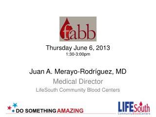 Thursday June 6, 2013 1:30-3:00pm