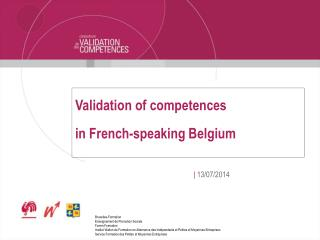 Validation of competences in French-speaking Belgium