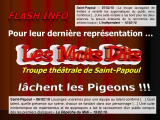 Troupe théâtrale de Saint-Papoul