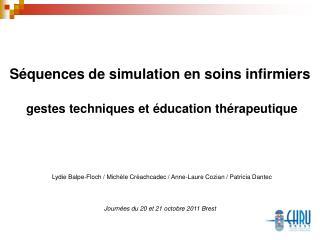 Intérêt de la simulation à l'IFSI