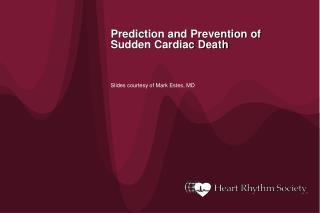 Prediction and Prevention of Sudden Cardiac Death