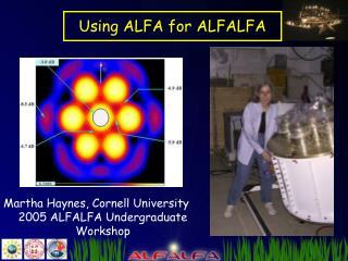 Using ALFA for ALFALFA