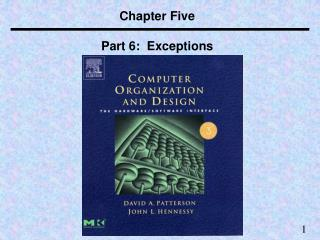 Chapter Five Part 6:  Exceptions