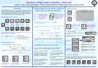 Bayesian Image Super-resolution, Continued