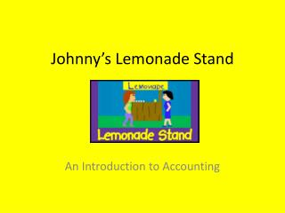 Johnny's Lemonade Stand