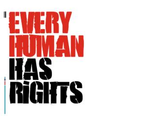 Universal Declaration of Human Rights (UDHR)