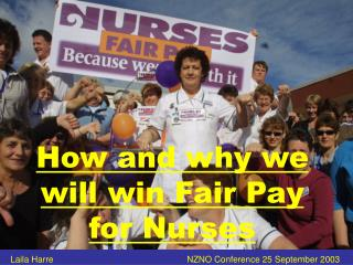 How and why we will win Fair Pay for Nurses