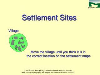 Settlement Sites