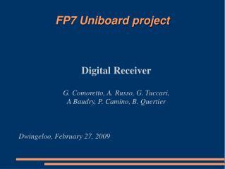 FP7 Uniboard project