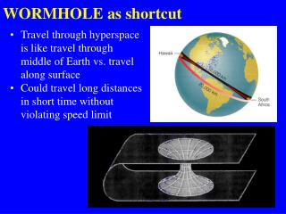WORMHOLE as shortcut