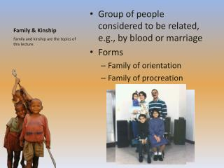 Family & Kinship